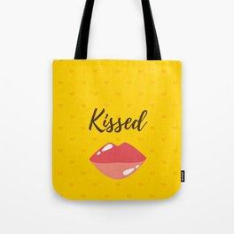 Kissed Lippy Tote Bag