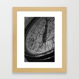 Standing Still Framed Art Print
