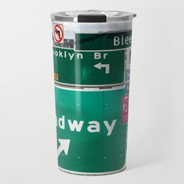 New York City Streets Travel Mug