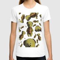 teddy bear T-shirts featuring Teddy-bear by Кaterina Кalinich