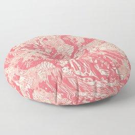 Big wave soft Floor Pillow