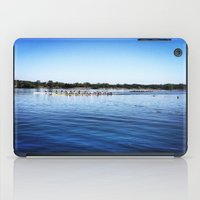 animal crew iPad Cases featuring Crew  by Lindsay Jackson-Moses