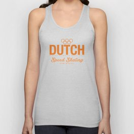 Dutch - Speed Skating Unisex Tank Top