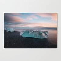 iceland Canvas Prints featuring Iceland by JulienHery