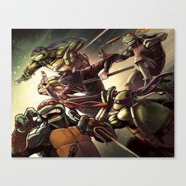 TMNT Go! Canvas Print
