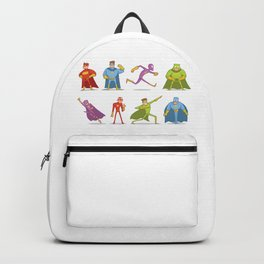 Funny Superheroes Backpack