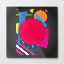 Abstract modern print Metal Print