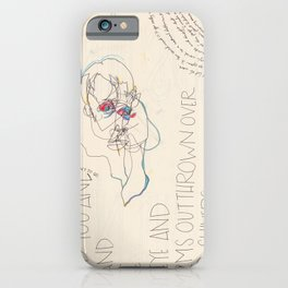 Disintegral Fragment iPhone Case