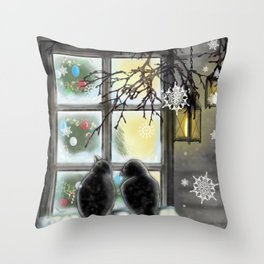 Warmth from Within Throw Pillow