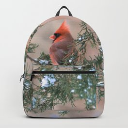 Winter Pair: Cardinals Backpack