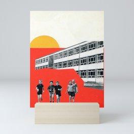 Schoolyard Sun  Mini Art Print