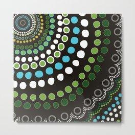 Aboriginal Pattern No. 6 Metal Print