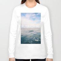 michigan Long Sleeve T-shirts featuring Lake Michigan by Pan Kelvin