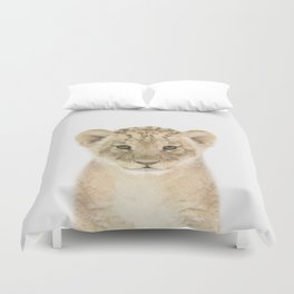 Baby Lion Duvet Cover