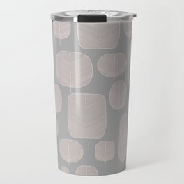 Fall leaves in Grey Travel Mug
