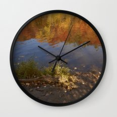 Colours in Mauricie - Canada Wall Clock