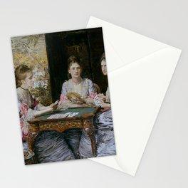 John Everett Millais - Hearts are Trumps Stationery Cards