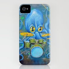 Octopus on Drums Slim Case iPhone (4, 4s)