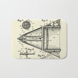 Submarine Torpedo Boat 06-1910 Bath Mat