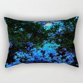 Cascade of Flowers Rectangular Pillow