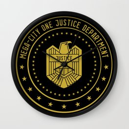 Mega-City One Justice Department Wall Clock