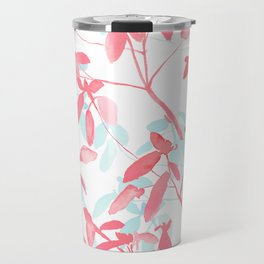 Premonition (Coral Mint) Travel Mug