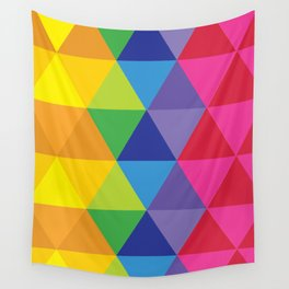 Rainbow Cosmic Universe Wall Tapestry