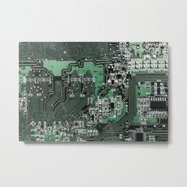 Circuit Board 2 Metal Print