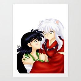InuYasha Love Art Print