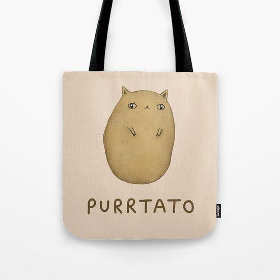 Purrtato Tote Bag