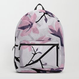Magnolia Pattern Backpack