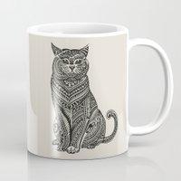 british Mugs featuring Polynesian British Shorthair cat by Huebucket