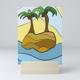 Island Hopping Mini Art Print