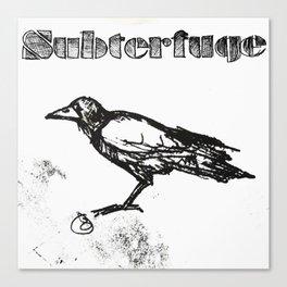 Subterfuge logo Canvas Print