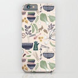 Ramen Bowl iPhone Case
