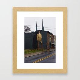 Dr. J Framed Art Print