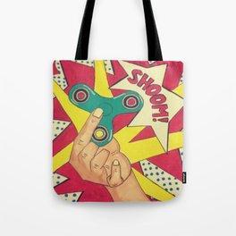Lichtenstein Fidget Spinner Tote Bag