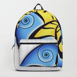 Mandala Spiral Star Backpack