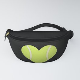 Love Heart Tennis design Valentine's Day Gift Tennis Players Fanny Pack