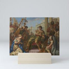 Sebastiano Ricci - The Continence of Scipio Mini Art Print