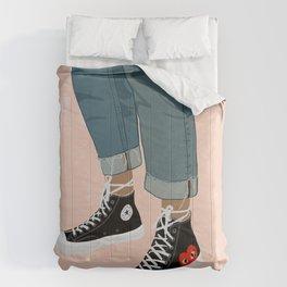 Hidden Heart - All Star Converse Comforters