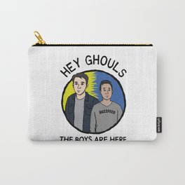 Hey Ghouls Carry-All Pouch