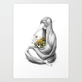 Bowerbird II Art Print