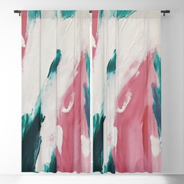 Abstract Oil Painting No.39 Blackout Curtain