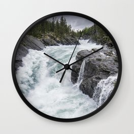 Raging River Wall Clock