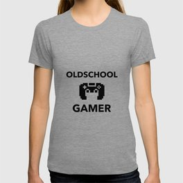 Oldschool Gamer Pixel T-shirt