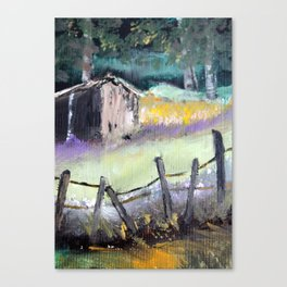Barn Landscape  Canvas Print