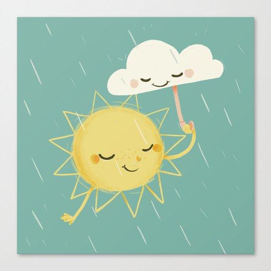 Little Sun Canvas Print