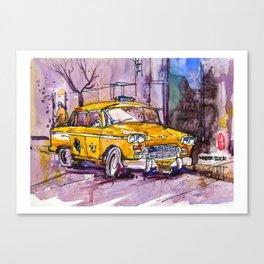 20161026 USA New York Taxi REF Canvas Print