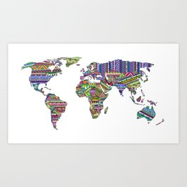 Overdose World Art Print